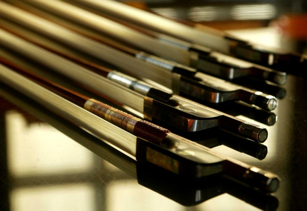 Contemporary cello bows sold by Aitchison & Mnatzaganian
