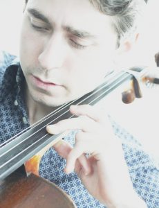 Mikhail Nemtsov cellist and owner of a Stradivari copy by Robin Aitchison