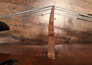Robin Aitchison example of a warped cello bridge