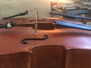Original and copy: Robin Aitchison's copy of Montagnana cello